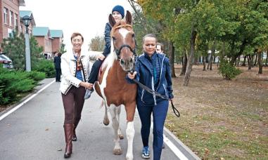 Адаптивная верховая езда в системе адаптивной физической культуры